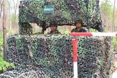 Królewski tajlandzki wojsko fotografia stock