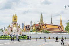 królewski uroczysty Bangkok pałac Obrazy Royalty Free