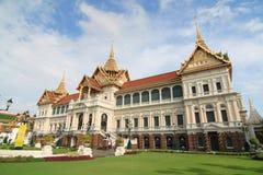 Królewski uroczysty pałac Zdjęcia Royalty Free