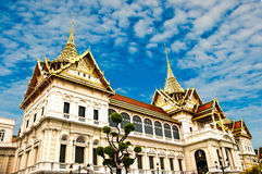 Królewski Uroczysty pałac Obraz Royalty Free