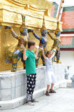 Królewski Uroczysty Pałac, Tajlandia Obrazy Royalty Free