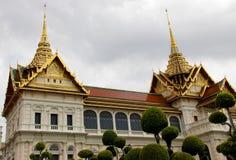 Królewski uroczysty pałac w Bangkok, Azja Tajlandia Zdjęcia Royalty Free