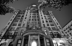 Królewski Wątrobowy budynek, Liverpool, UK Fotografia Royalty Free