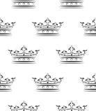 Królewski wzór Obraz Royalty Free