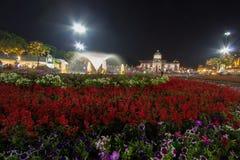 Królewski zima festiwal, ` Oon Ai Rak Klay Kwam Nao `, Królewski plac, Dusit pałac i Sanam Suea Pa, Bangkok, Tajlandia na Februar Obrazy Royalty Free