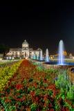 Królewski zima festiwal, ` Oon Ai Rak Klay Kwam Nao `, Królewski plac, Dusit pałac i Sanam Suea Pa, Bangkok, Tajlandia na Februar Zdjęcie Royalty Free