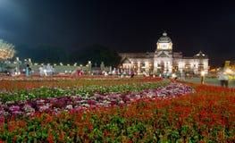 Królewski zima festiwal, Oon Ai Rak Klay Kwam Nao przy Królewskim placem, Dusit pałac i Sanam Suea Pa, Bangkok, Tajlandia na Febr Obrazy Stock