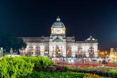 Królewski zima festiwal, Oon Ai Rak Klay Kwam Nao przy Królewskim placem, Dusit pałac i Sanam Suea Pa, Bangkok, Tajlandia na Febr Fotografia Stock