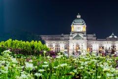 Królewski zima festiwal, Oon Ai Rak Klay Kwam Nao przy Królewskim placem, Dusit pałac i Sanam Suea Pa, Bangkok, Tajlandia na Febr Obraz Stock