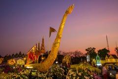 Królewski zima festiwal, ` Oon Ai Rak Klay Kwam Nao ` przy placem, Dusit pałac i Sanam Suea Pa, Królewskimi, Bangkok, Tajlandia n Zdjęcia Stock