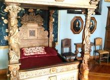 królewskie łóżko Obrazy Stock