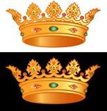 królewskiej korony Zdjęcie Stock