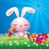 królik śliczny Easter ilustracja wektor