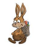 królik śmieszny royalty ilustracja