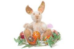 królik Easter odizolowywający Zdjęcia Royalty Free