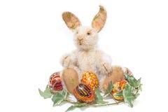 królik Easter odizolowywający Obrazy Royalty Free