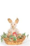 królik Easter odizolowywający Zdjęcie Royalty Free