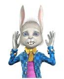 królik Easter szokujący ilustracji
