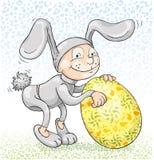 królik Easter udaje Zdjęcie Royalty Free