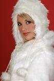 królik loży narty śnieg Fotografia Royalty Free