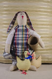 królik miękka zabawka Fotografia Stock