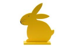 królik Wielkanoc drewna Zdjęcia Royalty Free