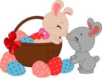 królik Wielkanoc komiks Zdjęcia Stock