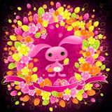 królik Wielkanoc miły Zdjęcie Royalty Free