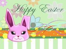 królik Wielkanoc szczęśliwy Obraz Royalty Free