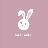 królik Wielkanoc szczęśliwy obraz stock