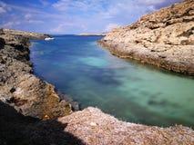Królik wyspa na Lampedusa, Sicily Zdjęcie Royalty Free