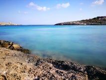 Królik wyspa na Lampedusa, Sicily Obrazy Royalty Free