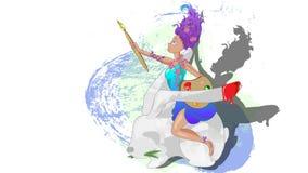 królika biel ilustracja wektor
