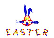 królika cdr Easter format royalty ilustracja