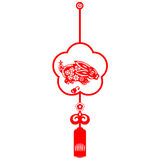 królika chiński nowy rok Obraz Royalty Free