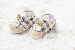Królika dziecka buty Obrazy Royalty Free