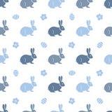 królika Easter deseniowy bezszwowy Króliki, zając ilustracji