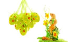 królika Easter jajka Zdjęcie Stock