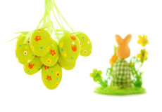 królika Easter jajka Fotografia Stock