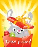 królika Easter jajka Obrazy Stock