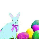 królika Easter jajka Zdjęcia Stock
