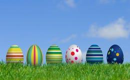 królika Easter jajka Obraz Royalty Free