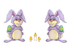 królika kurczątko Easter Obrazy Stock