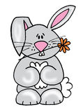 królika mały śliczny royalty ilustracja