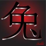 królika porcelanowy zodiak Zdjęcie Stock