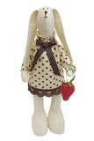 królika truskawki zabawka Zdjęcie Royalty Free