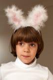 królika ucho dziewczyna trochę dosyć fotografia stock