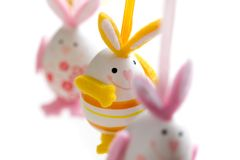 króliki Easter Obraz Stock