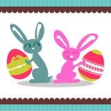 króliki Easter Ilustracji