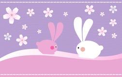 króliki Easter royalty ilustracja